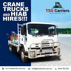 Backed with years of experience in this domain, TSS Carriers have been able to offer the large collection of Construction Hiab truck Hiring Services. We have been able to attain strong market goodwill as a trusted organization engaged in offering our clients Hiab truck Rental Services. Contact Details: info@tsscarriers.com.au. #cranetrucks #tsscarriers #transportation #containers #hiabs #tsstrucks #sydney #dedicatedcontractservice Concrete Lifting, Commercial Air Conditioning, Lifting Devices, Steel Fabrication, Crane, Transportation, Trucks, Sydney, Strong