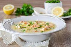 Норвежский суп с морепродуктами