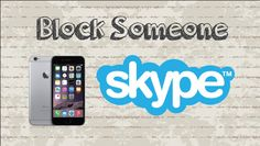 How to block someone on Skype | Mobile App (Android & Iphone) #video #youtube #howtocreator #free #social #app #mobile #mobileapp #android #iphone #ipad #chat #messenger #free #socialnetworking #skype #skypeapp