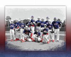 Baseball team photo @Christina Childress Childress Childress Childress Bellar................ohhhhh' wish they would have had poses like THIS 20 years ago...when my kids played...so cute!