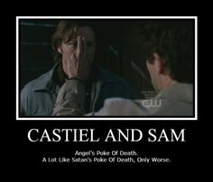 Image detail for -Funny Castiel and Sam by ~thraxey on deviantART