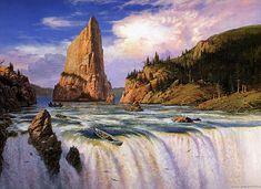 Ted Nasmith - At the Falls