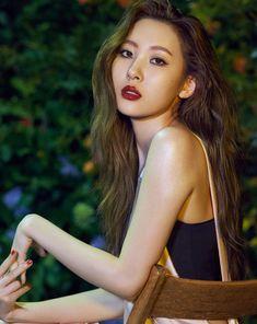Sunmi (Wonder Girls) - Sure Magazine July Issue '16