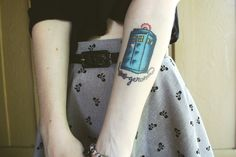 """50 Fantastic """"Doctor Who"""" Tattoos"""