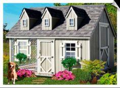 Cape Cod style dog house