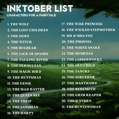 Preparing for Inktober 2017? I am too! And to get inspired, I have put together 8x Inktober prompt lists, to help us create something really cohesive and cool this October Prompt lists: - Post...