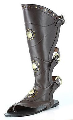 9.5 NEW Size USA Jumpsuit Costume Era Elvis BLACK 100/% Leather Zip-Up Boots