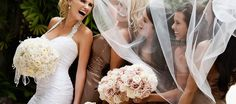 Complicidad de la novia y sus mejores amigas