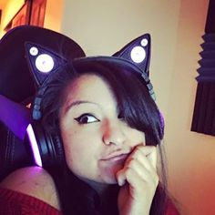this is also one of my fav pics of me with my headphones!