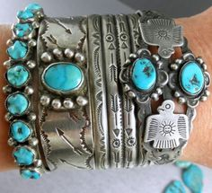 Filled with Arrows Beautiful Old Fred Harvey Navajo Early 30's Cuff Bracelet | eBay