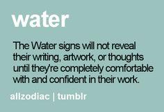Water Signs. Scorpio