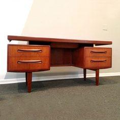 Teak G Plan Desk, $1,448, now featured on Fab.