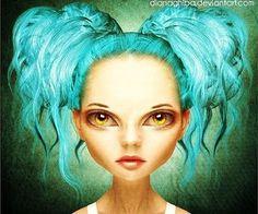Inspiring Digital Illustrations by Diana Ghiba | Cruzine