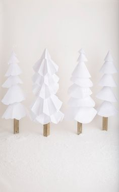 Paper Trees 1 Christmas Events, Christmas Store, Christmas Minis, Modern Christmas, Christmas Pictures, Holiday Mini Session, Christmas Mini Sessions, Paper Christmas Decorations, New Years Decorations