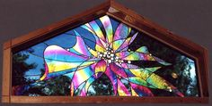 Ohhhh....this is one of my favorites!!!  Stained Glass Window from joannesstainedglass.com