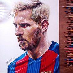 Drawing Lionel Messi #leomessi #lionelmessi #messi #drawing #coloredpencil #drawholic #prismacolor #portrait #fcbarcelona