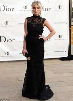 Ashlee Simpson in Dior?