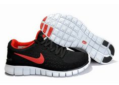 premium selection 5bf8d 18b32 Latest Listing Cheap Black Red Nike Free Run Mens Casual shoes Store