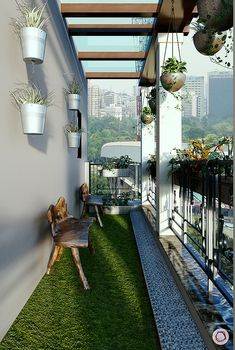 Hottest Indoor Balcony Design Ideas To Sit And Enjoy Your Time Narrow Balcony, Apartment Balcony Garden, Interior Balcony, Modern Balcony, Indoor Balcony, Apartment Balcony Decorating, Balcony Furniture, Apartment Balconies, Apartments