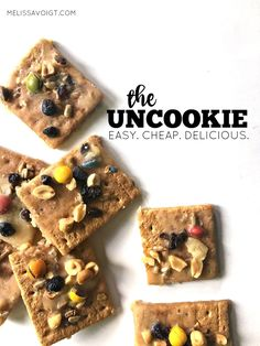 Are you looking for an amazing dessert that you can throw together in a few  minutes? The UnCookie is for you! It is easy to make, delicious to eat, and  every single ingredient you can buy at your local ALDI. It is easier than  buying a brownie mix and tastes better too! We want to introduce you to  your next go-to dessert!