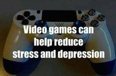 HAHA video games help