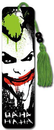 Joker Ha Ha - Collectors Beaded Bookmark