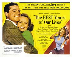 Dana Andrews and The Best Years of Our Lives (Wyler, 1946)