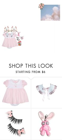 """Babygirl"" by cigarrts ❤ liked on Polyvore featuring LydaBaby, Poizen Industries, BabyGirl, lolita, kawaii and pastelpink"