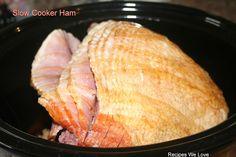 Slow Cooker Spiral Ham- so easy and BEST ham I have ever made!!
