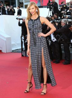Karlie Kloss. See all the celebrities at the Cannes Film Festival.