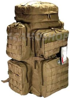 100 Hour Zombie Survival Hiking Tactical Hunting Huge by acamoshop