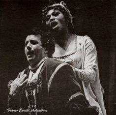 "Leontyne Price, Franco Corelli singing ""Non t'ascolto...mia sarai...Tu se' Ernani"" from Act 1, Ernani, Metropolitan Opera, 1965, Conductor Thomas Schippers."
