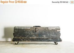SALE wooden tool box wood box wood tool box wooden by littlecows
