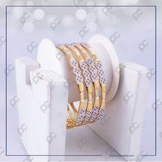 Gold Ring Designs, Gold Bangles Design, Jewelry Design, Hand Jewelry, Gems Jewelry, Diamond Jewellery, Jewlery, Plain Gold Bangles, Bangle Set