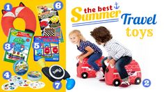 The Best Summer Travel Toys: games, toys, and gear for long trips with the kids!