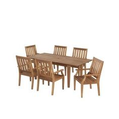 Plum Island 7-Piece Patio Dining Set-4-10-010-DSET at The Home Depot  $499