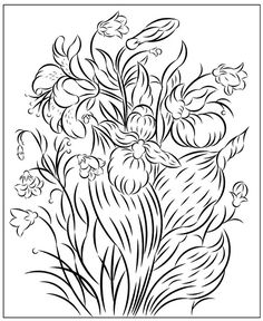 Nicole's Free Coloring Pages: March 2020 Poppy Coloring Page, Fruit Coloring Pages, Horse Coloring Pages, Flower Coloring Pages, Mandala Coloring Pages, Free Coloring, Fruit Flowers, Summer Flowers, Colorful Flowers