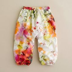 watercolor billow pant
