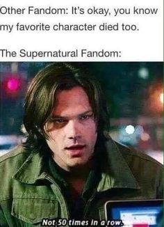 Supernatural                                                                                                                                                      More