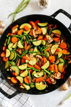 These flavorful Simple Sautéed Vegetables make the perfect healthy side dish that are seasoned to perfection and easily made in just 20 minutes! Sauteed Vegetables, Frozen Vegetables, Veggies, Healthy Side Dishes, Side Dish Recipes, Dinner Recipes, Quick Family Meals, Eat Yourself Skinny, Cooked Carrots