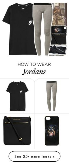 """""""•"""" by abigail-petion on Polyvore featuring Givenchy, MICHAEL Michael Kors and NIKE"""