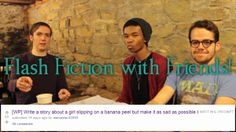 Play the Flash Fiction with Friends game and then read/watch the Sad Bananas stories from April's edition of Flash Fiction with Friends!