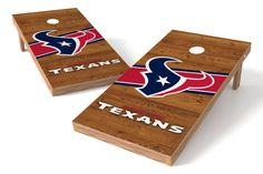 Houston Texans Cornhole Board Set - Logo http://prolinetailgating.com/