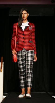 Checks & Tartan | Arnotts | Dublin Fashion Festival 2013 Festival Fashion, Dublin, Tartan, Fashion Show, Product Launch, Style Inspiration, Suits, Runway Fashion, Plaid