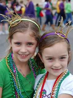 Mardi Gras wire crowns