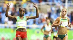 La etíope Almaz Ayana ganó la primera medalla de oro del atletismo en Río 2016 y…