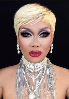 Jujubee looks so glam! Drag Queen Makeup, Drag Makeup, Drag Queens, Heavy Makeup, Rupaul Drag, Flawless Makeup, Fashion Face, Makeup Inspiration, Makeup Looks