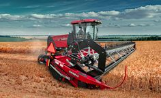 Mower Conditioners and Windrowers | Tractors | Case IH