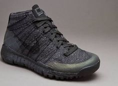 newest b401b ec596 The Nike Flyknit Trainer Chukka SneakerBoot is engineered for winter with a  lightweight feel.