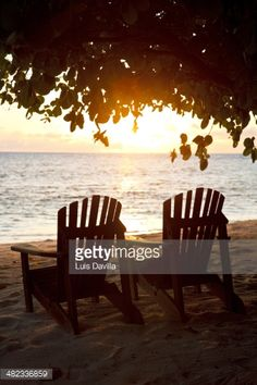 Life at the Beach, on Denis Private Island  Sunset Shot Getty Image Luis Davilla